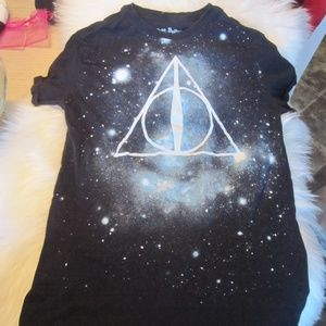 Harry Potter Deathly Hallows and cards?  tshirt